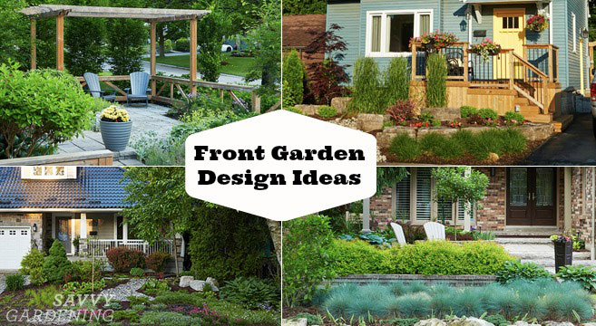 Front garden design ideas