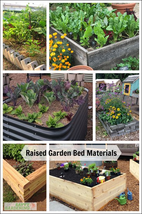 choosing raised garden bed materials