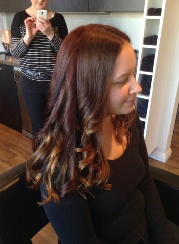 Cut, colour and curl