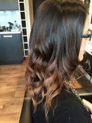 Hair cut and curl