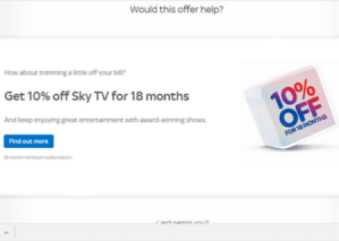 Want to haggle with Sky but don't want to spend ages on the phone? Try this trick which takes just a few clicks and should save you some money