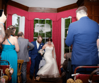 We knew before we got married we wanted to do things differently - here's why we chose to have an Independent Wedding Celebrant