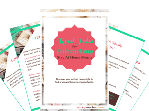 Real Jobs for Enterprising Moms Preview