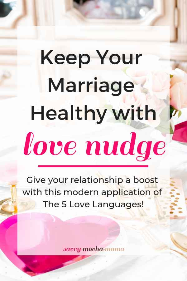 Sick of your flabby relationship? Tone it up with LoveNudge, the fitness app for relationships! LoveNudge was created by the author of the New York Times #1 bestseller The 5 Love Languages Dr. Gary Chapman. Discover how to put the 5 Love Languages into practice with this great app for couples.