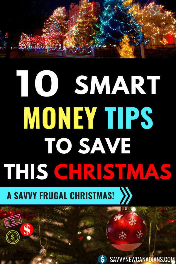 10 Smart Ways To Save Money This Christmas. Check out these simple ways to save lots of money on your Christmas shopping and gifts and still enjoy the season. #saveonchristmas #christmasshopping #christmastips #christmasgifts #savemoney