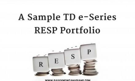 A Sample TD e-Series RESP Portfolio