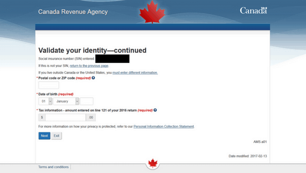 How to open a CRA MY Account