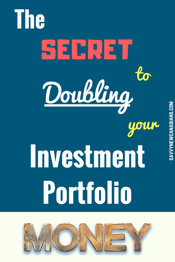 The Secret To Doubling Your Investment Portfolio