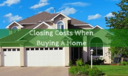 Closing Costs When Buying A Home: Infographic