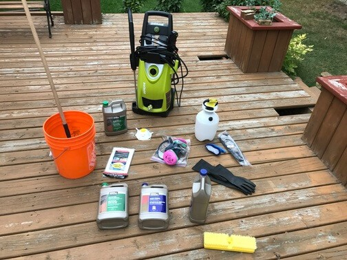 tools for stripping and cleaning