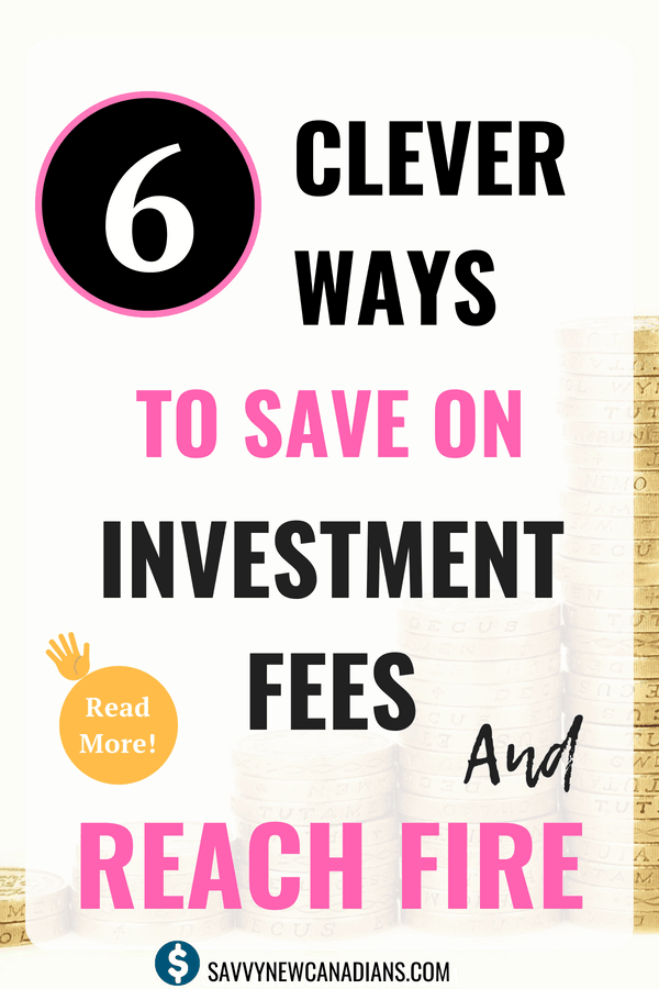 6 Clever Ways To Save on Investment Fees. Do you want to save money on your investments? Check out these proven tips to save money while growing your investment portfolio. #investing #stockmarkettips #beginnertips #savemoney #personalfinance