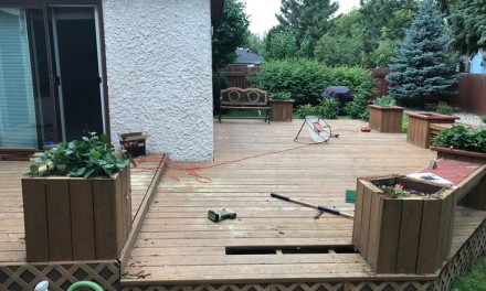 How To Strip, Clean, Stain, and Seal An Old Deck – Part 1