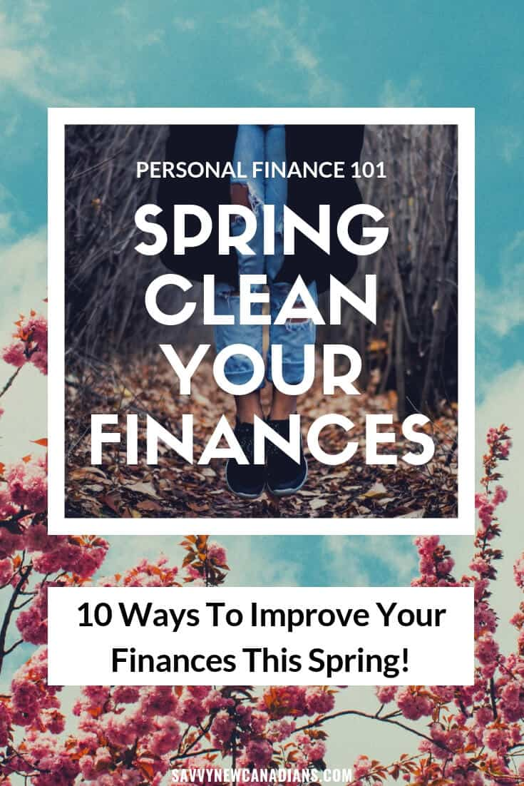How to Spring Clean Your Finances in 2020