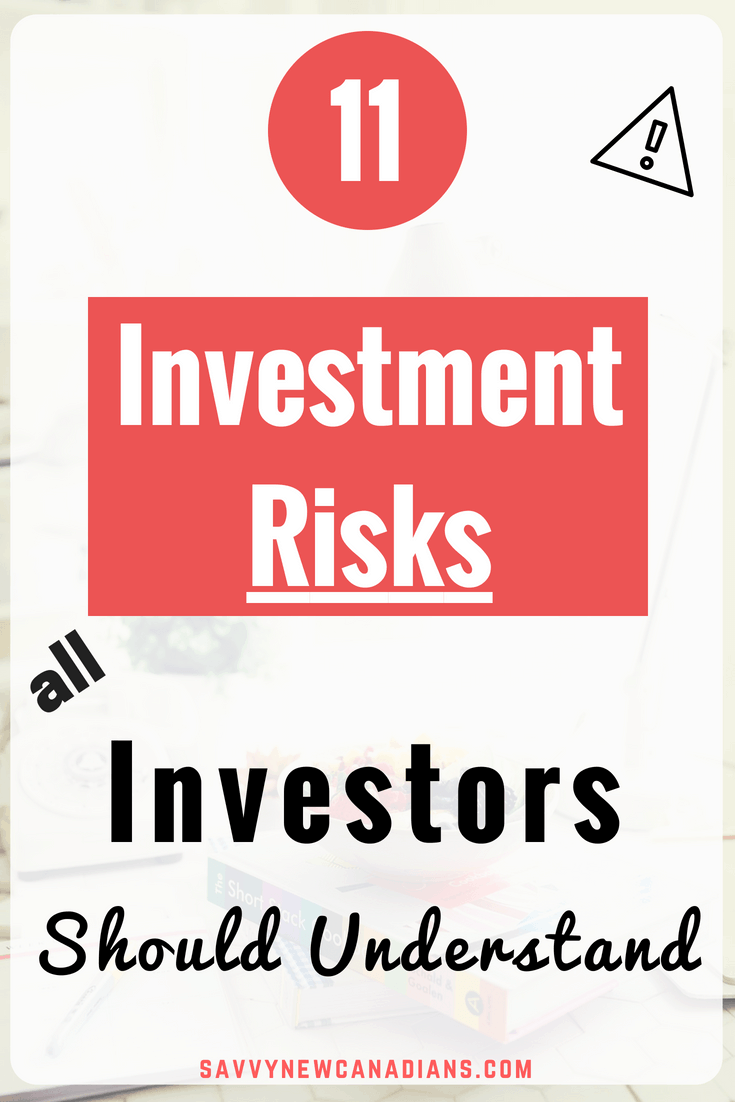 The Serious Investment Risks You Face As An Investor. The financial markets are full of risks and investors need to know what they are getting into before they invest their money in the markets. In this post, you can learn about the major investment risks and steps you can take to mitigate their impact on your portfolio. #investing #makemoney #savemoney #earnmoney #personalfinance #trading #beginner #moneytips