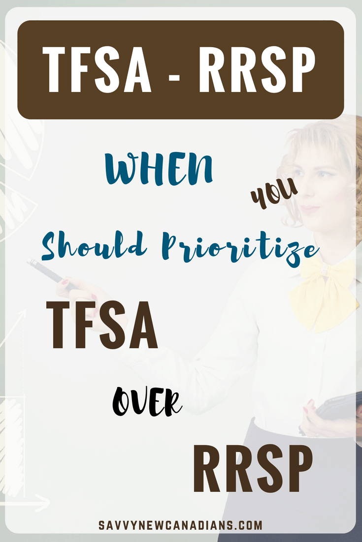 How to Choose Between TFSA and RRSP