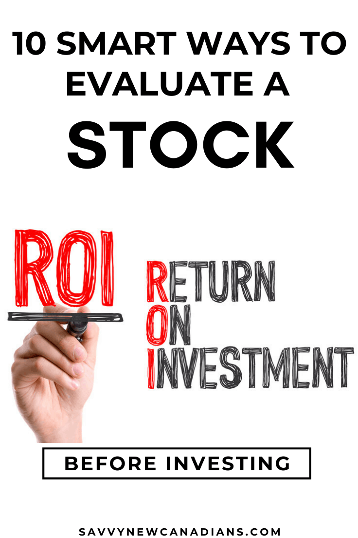 How To Evaluate a Stock Before Investing - 10 Stock Performance Indicators