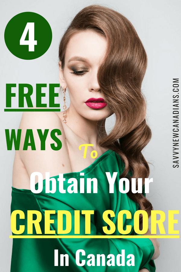 4 Easy and Free Ways To Obtain Your Credit Score. Check out the 4 easy ways to obtain your credit score in Canada. This post also shows how you can get your credit score for free if you are a resident of the U.S. #creditscore #free #savemoney #freebies #frugal #credit #savingmoney #personalfinance