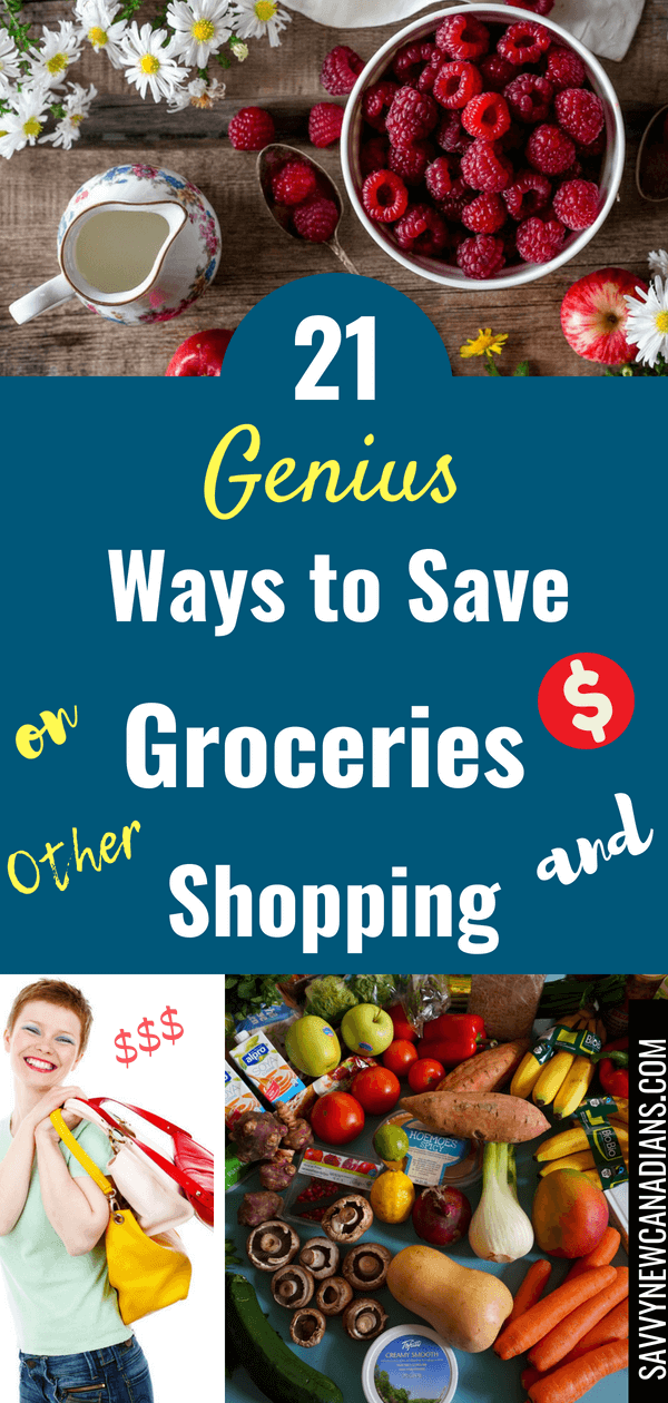 Save Money on Groceries and Shopping