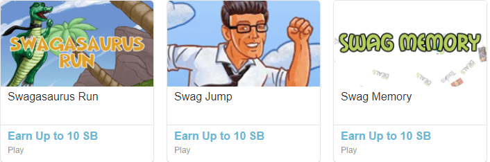 Swagbucks gaming