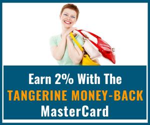 Tangerine 2% Money-Back Card