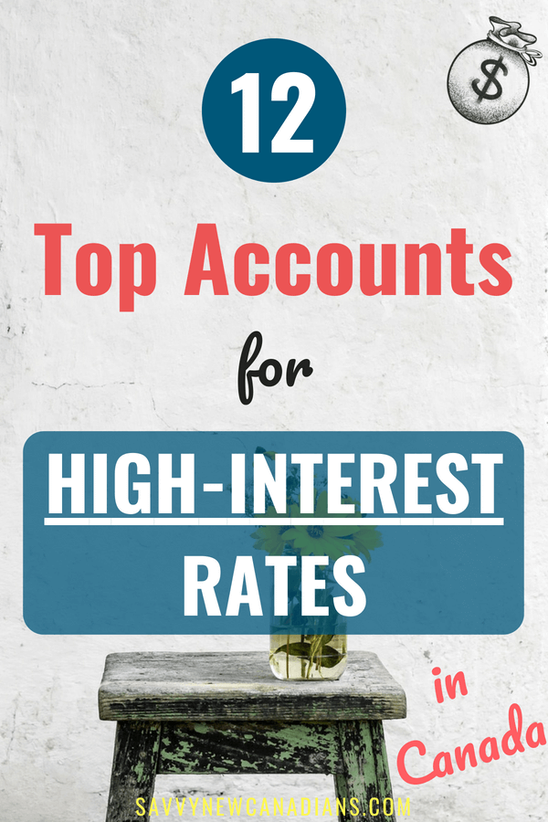 The Best Savings Accounts in Canada. Here are the top savings interest rates being offered in Canada. See how to maximize the returns on your savings account and increase your net worth. #savemoney #earnmoney #savings #moneytips #wealth #personalfinance #savingmoney #moneyaffirmations