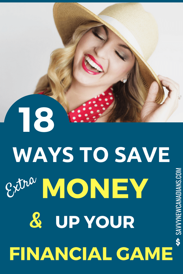 18 Ways To Save Money and Up Your Financial Game. Do you want to start saving thousands of dollars on your banking, investing and credit accounts? Check out these great tips to save money today. #savemoney #finances #investing #fees #budget #personalfinance