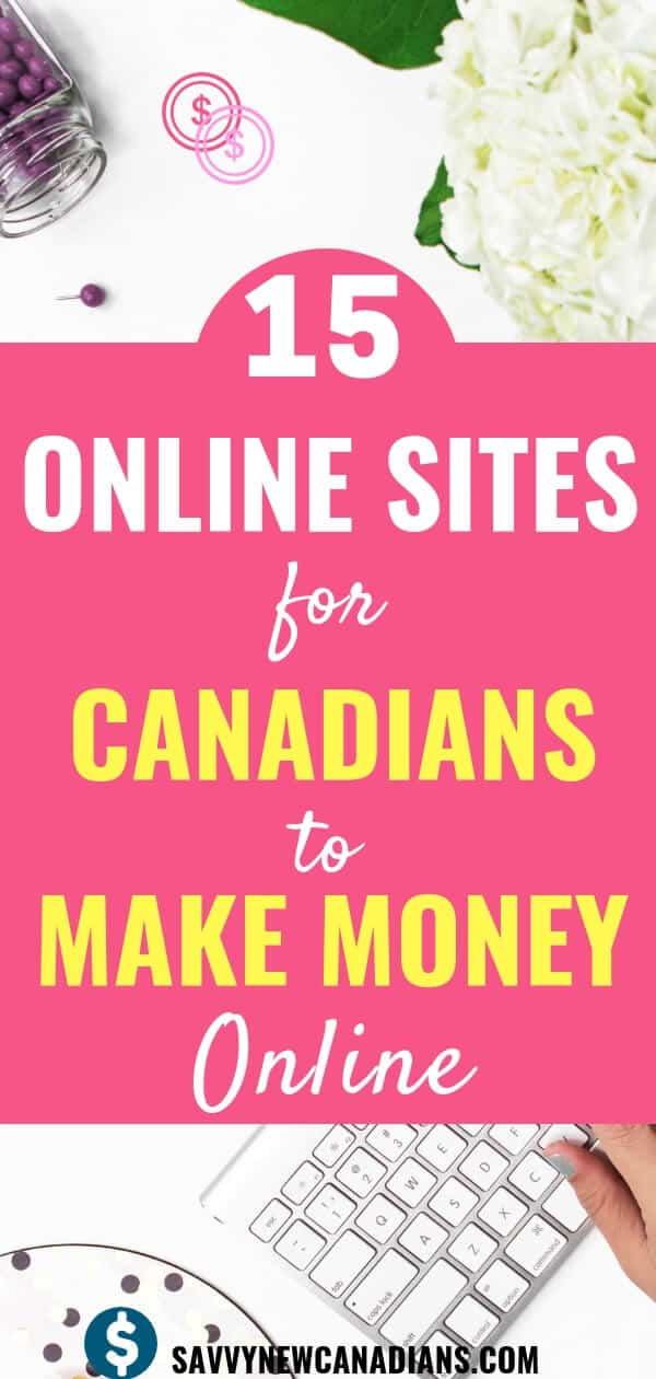 Do you want to make money working from home? Do you want to earn passive income easily from home giving your opinions? If so, these best paid survey sites are great for Canadians to make money online. #makemoneyonline #onlinejobs #makemoney #surveys