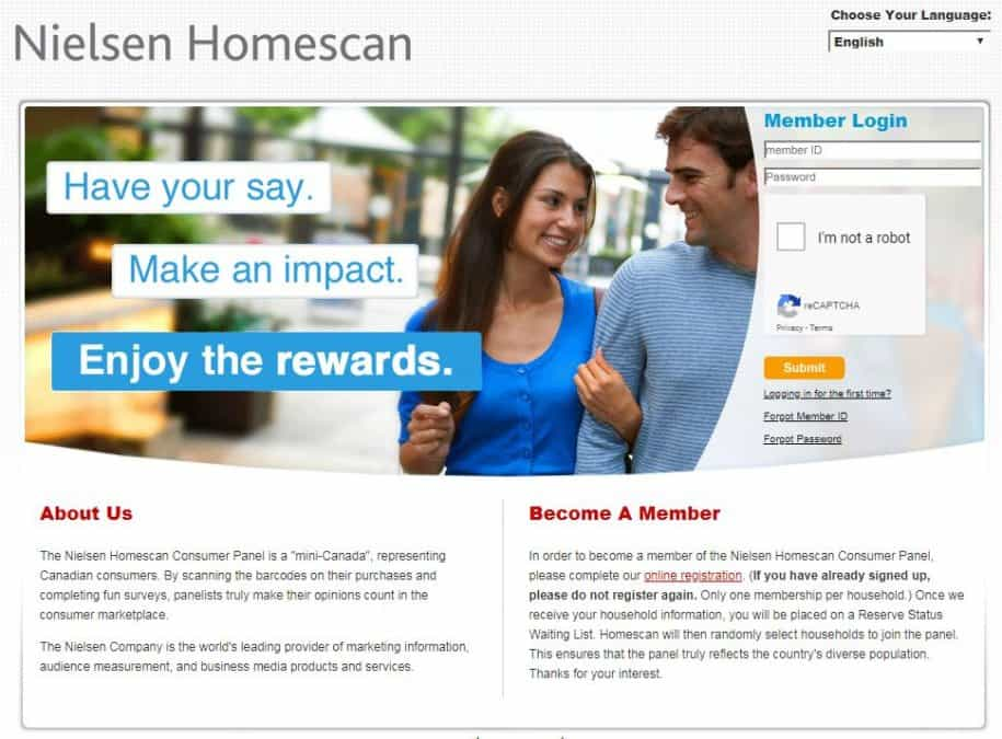 Nielsen Homescan Canada Review