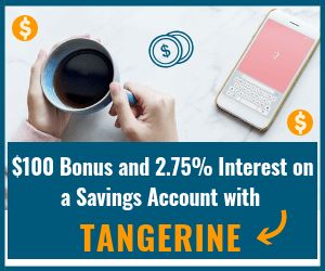 Tangerine Bank Savings