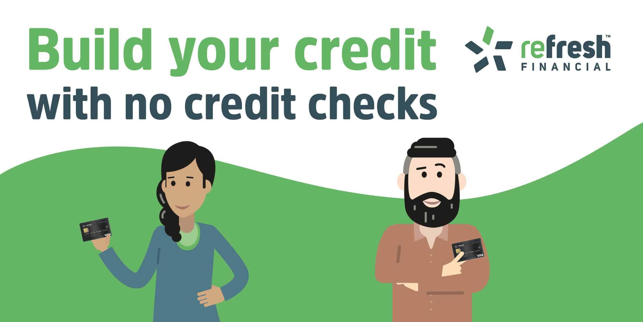 Refresh Financial Secured Visa Credit Card