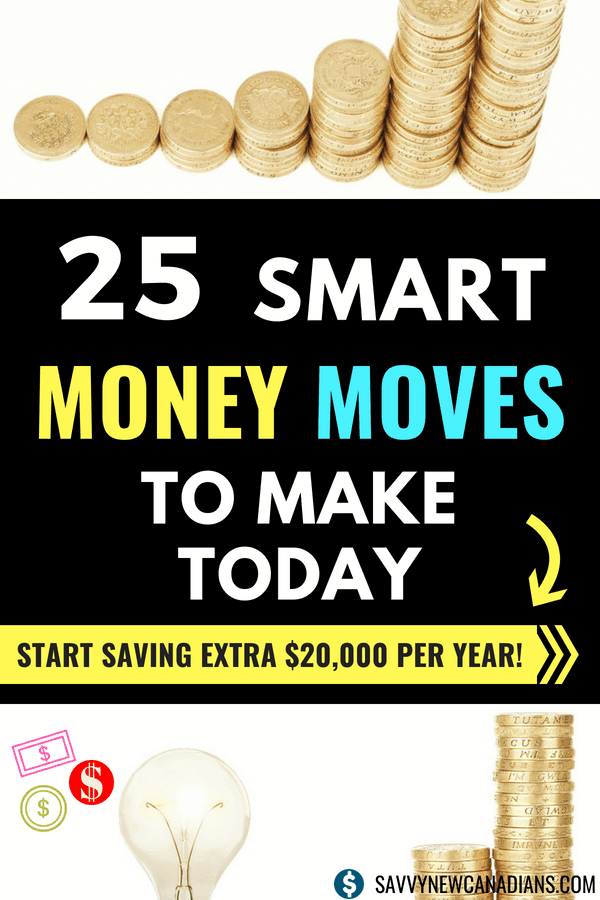 29 Smart Money Moves To Save Extra $20,000. Check out these simple tips and start saving more money, paying off debt, and meeting your financial goals. #financialplanning #savemoney #money #frugalliving #personalfinance #tips