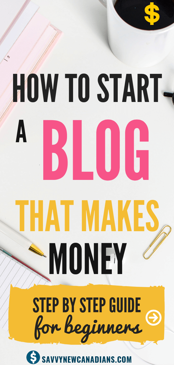 How To Start a Blog That Makes Money. This is the ultimate guide on how to start a blog for beginners. You will learn how to set up your blog in few minutes plus tips and strategies for monetizing it. Start your blog business today and start making money! Read and PIN for later. #bloggingforbeginners #startablog #blogideas #bloggingtips #makemoney #onlinebusiness
