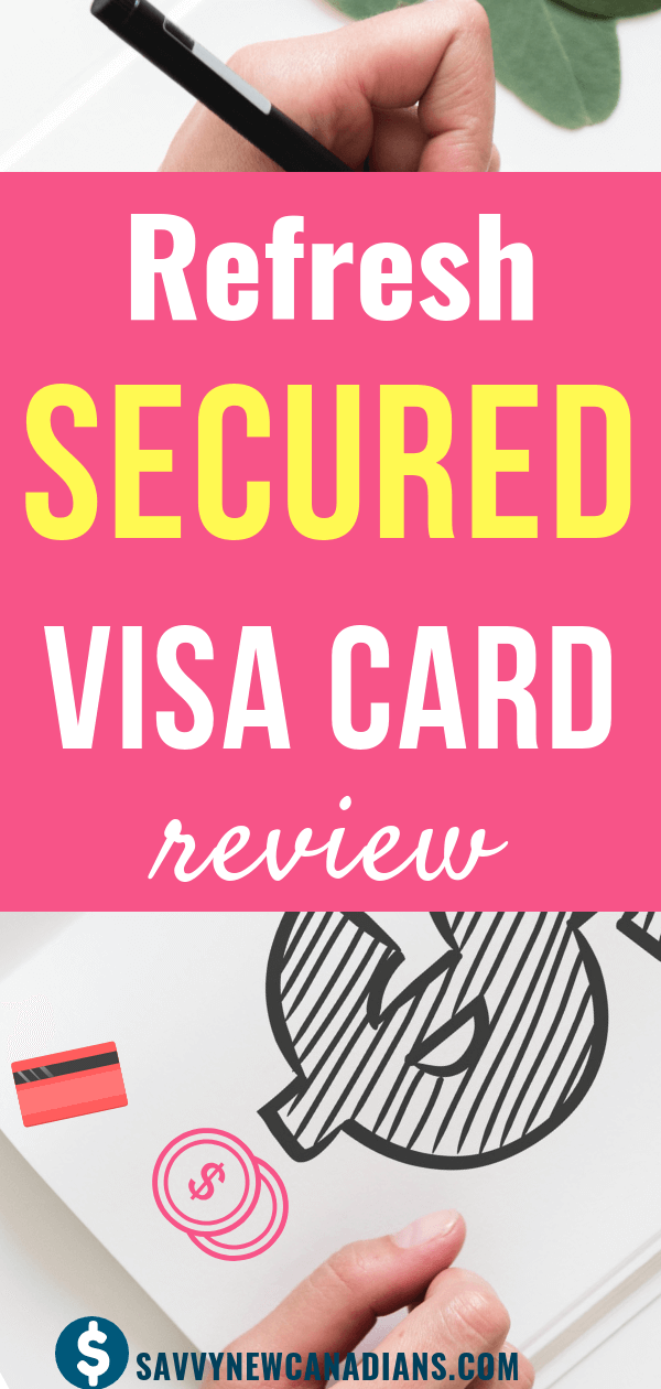 The Refresh Financial Secured Visa Credit Card is popularly known as the go-to card if you have a poor credit, damaged credit, or no credit at all, and are looking for ways to build or repair your credit rating. #securedvisa #creditcard #debt #getoutofdebt #moneytips #debtconsolidation