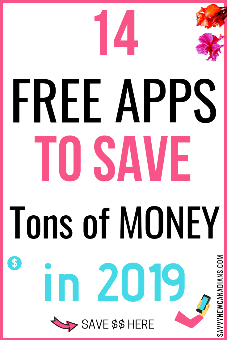 Do you want to start saving more money? Check out these 14+ free apps and you will be surprised at how much money you can save on a daily basis. Click to read now and also PIN for later. #savingmoneyapps