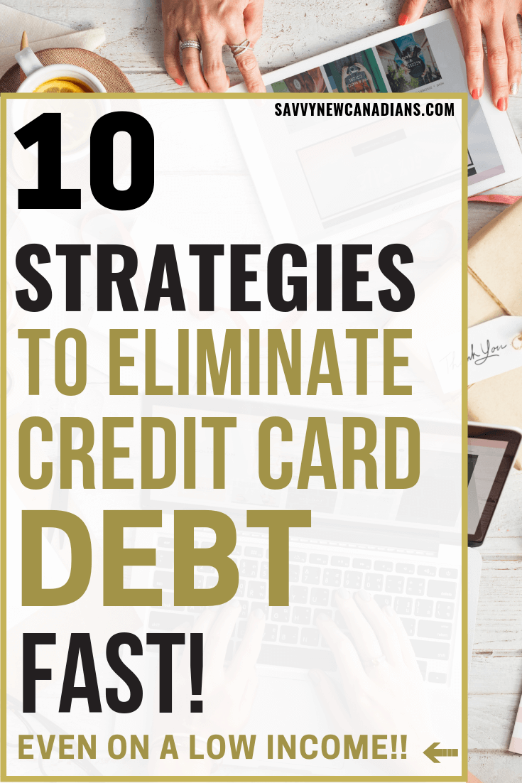 10 Easy Ways To Get Out Of Credit Card Debt Fast
