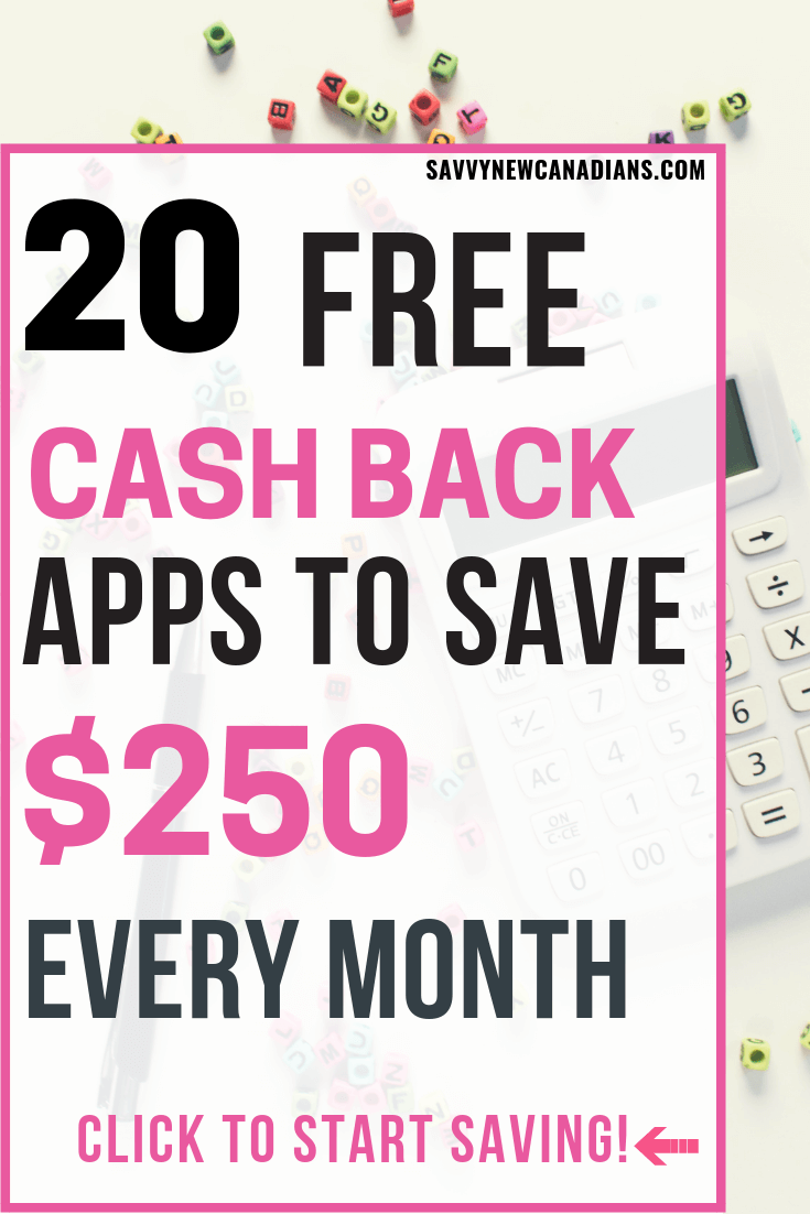 Do you want to get cash back on all your shopping? Here are 20 FREE cashback and rebate apps to get started. save money | cash back apps save money | cash rewards | cash back apps #rebates #nocoupon #savemoney #shopping #groceries #cashback