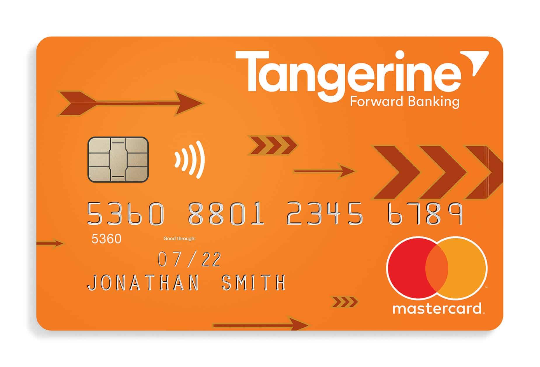 Tangerine Cash Back Credit Card