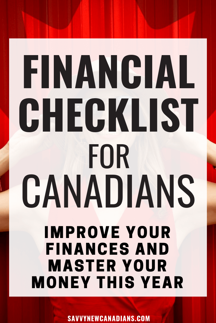 Financial Checklist For Canadians in 2020