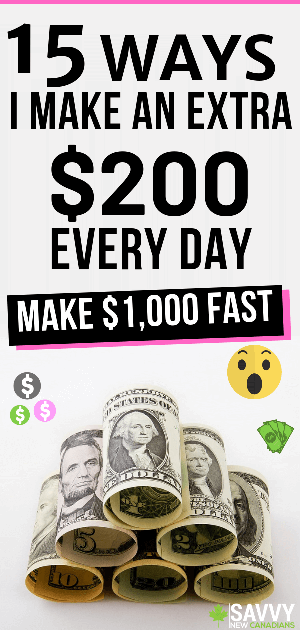 Need cash fast? Here are 15 easy and legit ways to make an extra $1,000 fast! Whether you are a stay at home mom, stay at home dad, student, or you are without a job, these clever side hustles will help you earn money fast. No previous experience required! #MakeMoney #MakeMoneyFast #MakeMoneyOnline #HowToMakeMoney #SideHustle #PayOffDebt