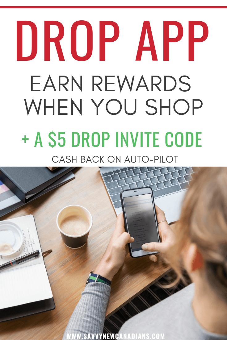 The Drop app is a great way to automatically earn cash back rewards on your shopping. Read on to find out more about this FREE app. When you sign up using our Drop invite code, you get a FREE $5 bonus instantly - no purchase necessary! #Drop #savemoney #rewards #savingmoney #giftcards #freeapp #makemoney