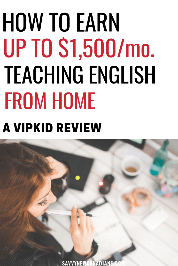 Want to earn money working from home? You can make up to $22 per hour teaching English language to kids online via VIPKid. This review shows you how to get started with VIPKid and start earning. #VIPKid #makemoneyonline #makemoney #sidehustle #ESLTeaching #workfromhome