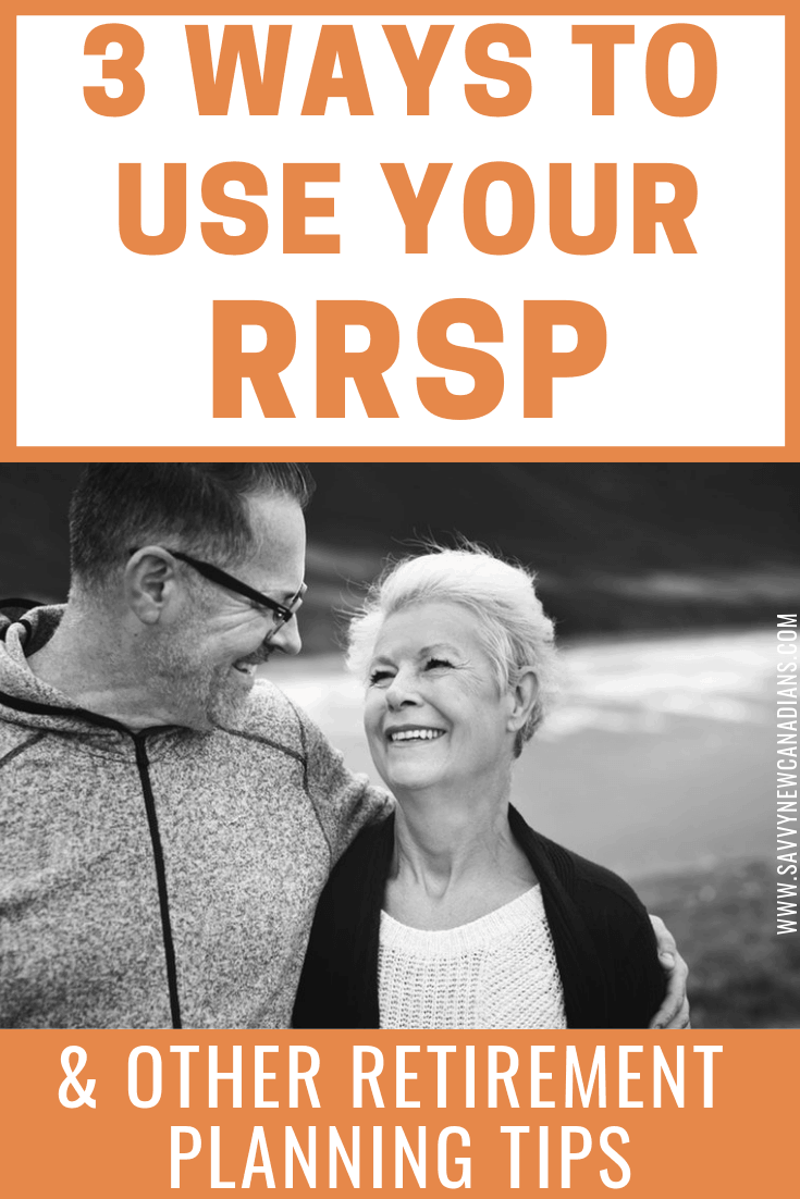 Check out the 3 main ways to use your RRSP account without running into trouble. Also, this post contains other retirement planning tips including how much money you will need to retire comfortably. #retirementplanning #RRSP #investments #savemoney #financialplanning