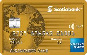 Scotia Gold American Express card