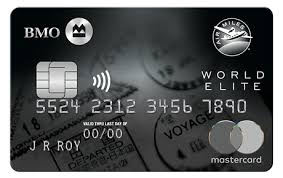 BMO AIR MILES World Elite Mastercard