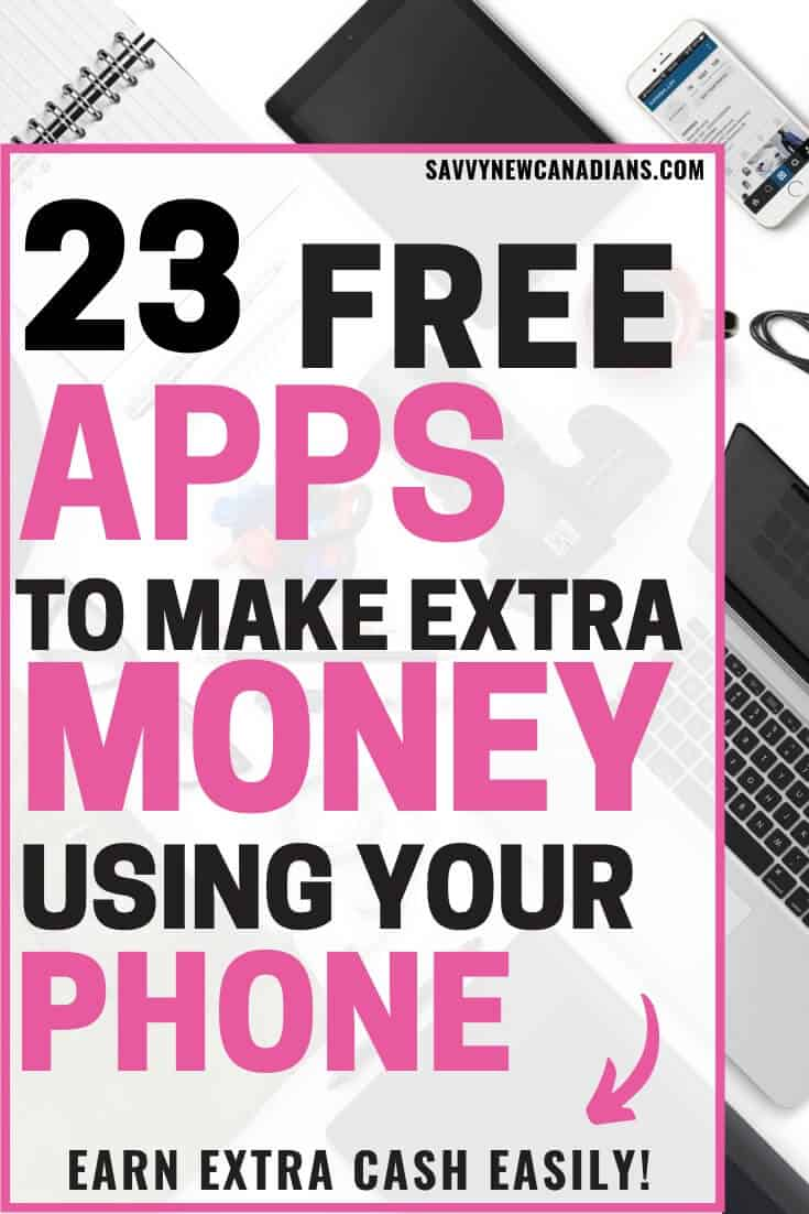 Looking for money making apps? This list has the best money making apps that will pay you to download them on your smartphone. Learn how to make money fast using your smartphone today! #moneymakingapps #smartphoneapps #makemoney #sidehustle #mobileapps #apps #makemoneyonline #makemoneyfast #extracash #sidehustles #onlinejobs #onlinebusiness #workfromhome #workathome