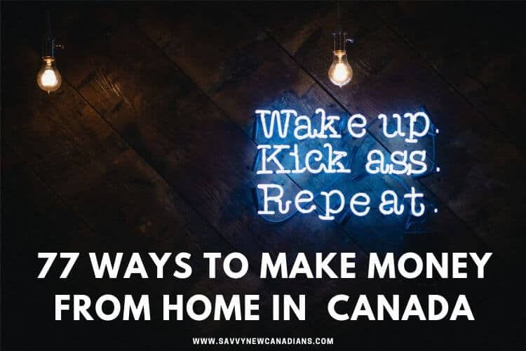 how can i earn money from home in canada real ways to earn extra money at home