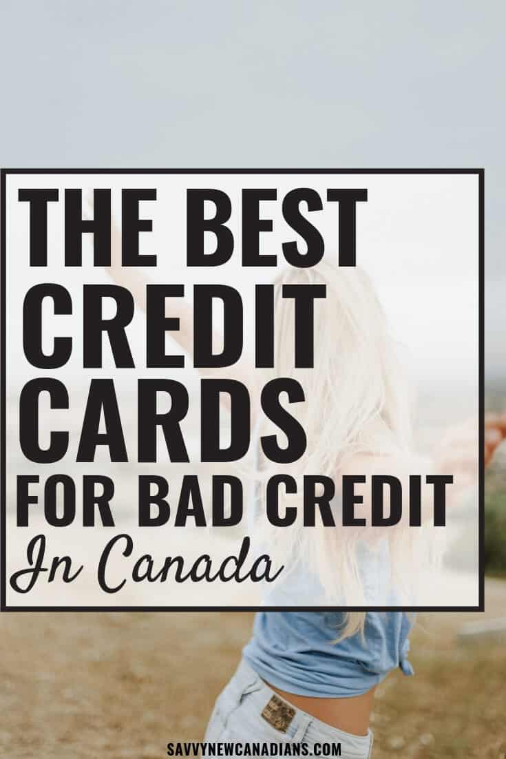 The best credit cards to repair your bad credit. #creditrepair #creditcards #buildcreditscore #creditrepairtips #Canada