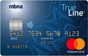 MBNA True Line Gold Mastercard