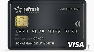 Refresh Financial Secured Visa Card