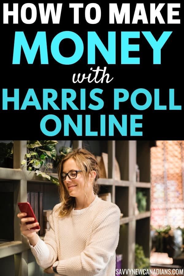 Harris Poll Online is one of the best-paid surveys sites available. Here\'s how you can make money completing surveys and other simple tasks with this survey panel. #HarrisPoll #surveys #surveysites #makemoney #makemoneyonline
